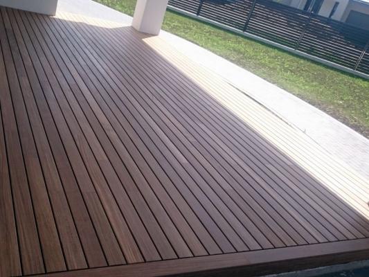 Medinės terasos grindys