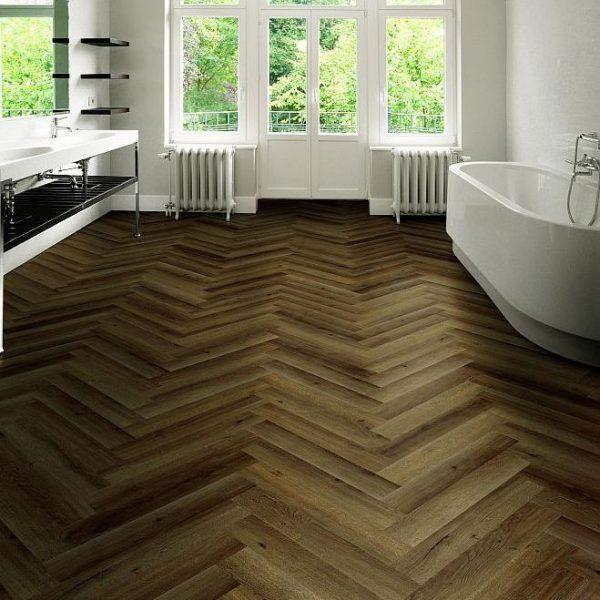 Vinilinės vonios grindys